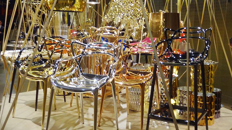 140411-salone-del-mobile-kartell-messestand-gold